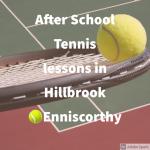 Hillbrook Tennis Club Autumn Junior Tennis Coaching Programme September 2021